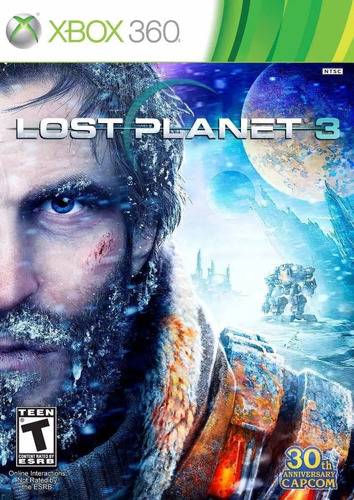 lost planet 3 xbox 360 português,novo, lacrado, midia física