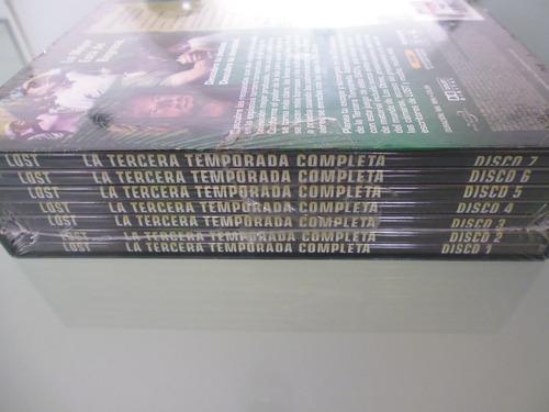 lost / tercera temporada completa / 7 dvd / nuevo / box set