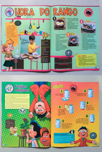 lote 06 - 100 revistas nosso amiguinho - os desbravadores
