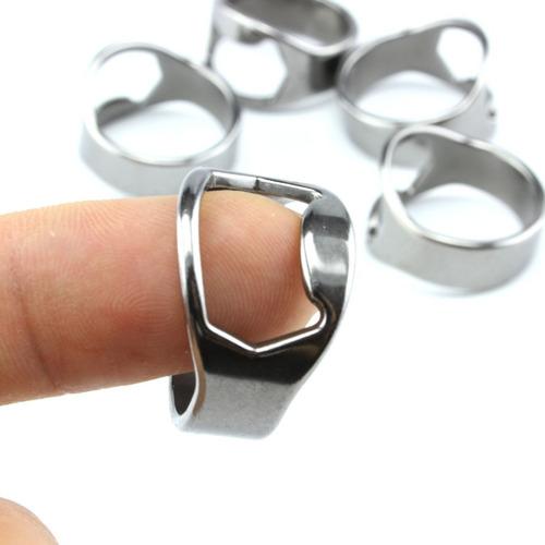 lote 10 anillos destapador de acero inoxidable para cerveza