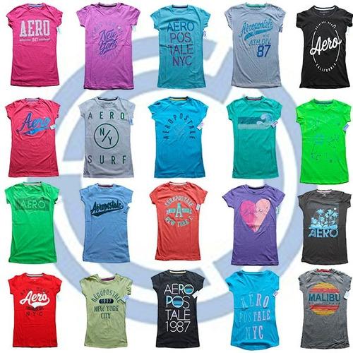 lote 10 blusas o playeras aeropostale mujer 2019 nuevas