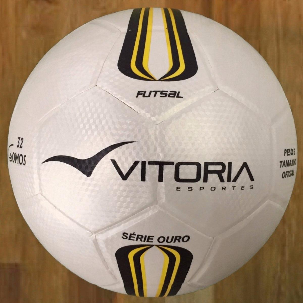 lote 10 bolas futsal vitória oficial série ouro 500 revenda. Carregando  zoom. 6e8b992cad050