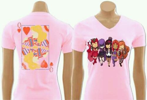 lote 10 camisetas estampadas