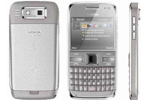 lote 10 celular nokia e72 3g wifi 5mp s/ bateria e acessorio