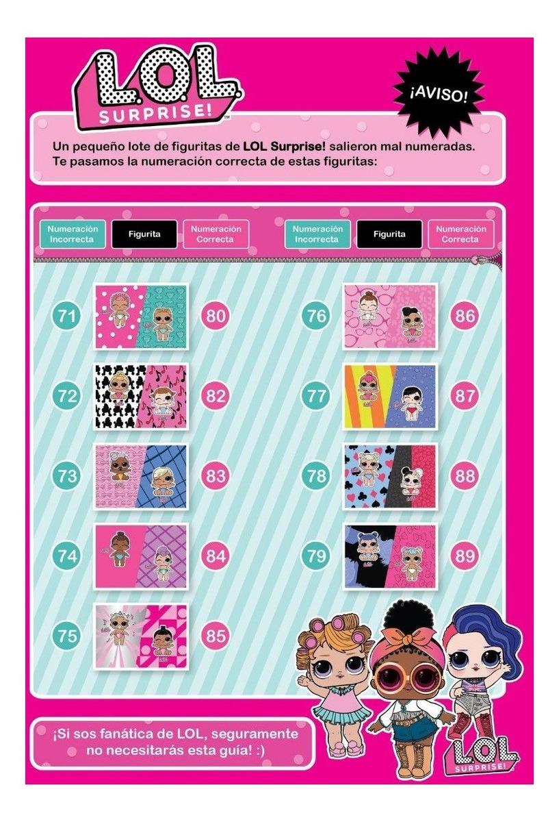 Sticker Nº 173 PANINI-l.o.l surprise! 173a+173b
