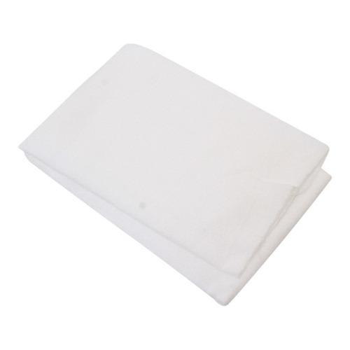 lote 10 franelas blancas 60 x 50 cms