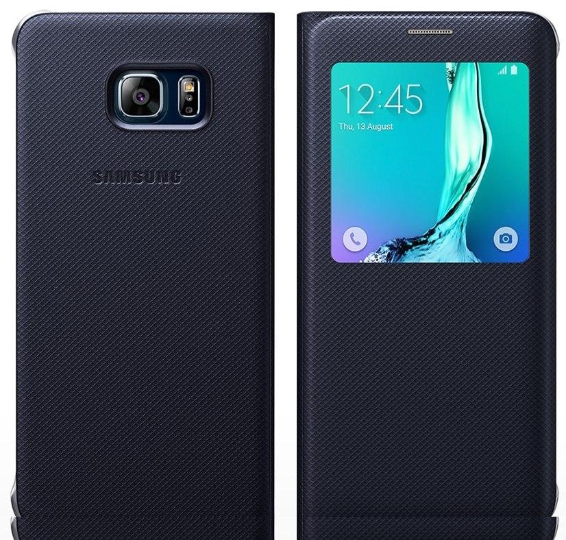 7d9279046fa Lote 10 Fundas Samsung S6 Edge Plus S-view Flip Cover Azul ...