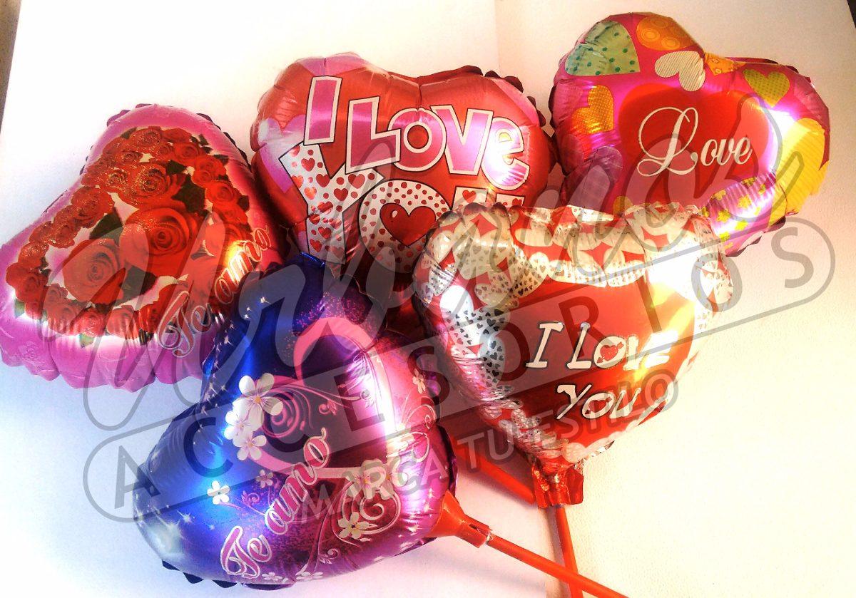 Lote 10 Globos San Valentin San Valentin 12 Pulgadas 4800 en