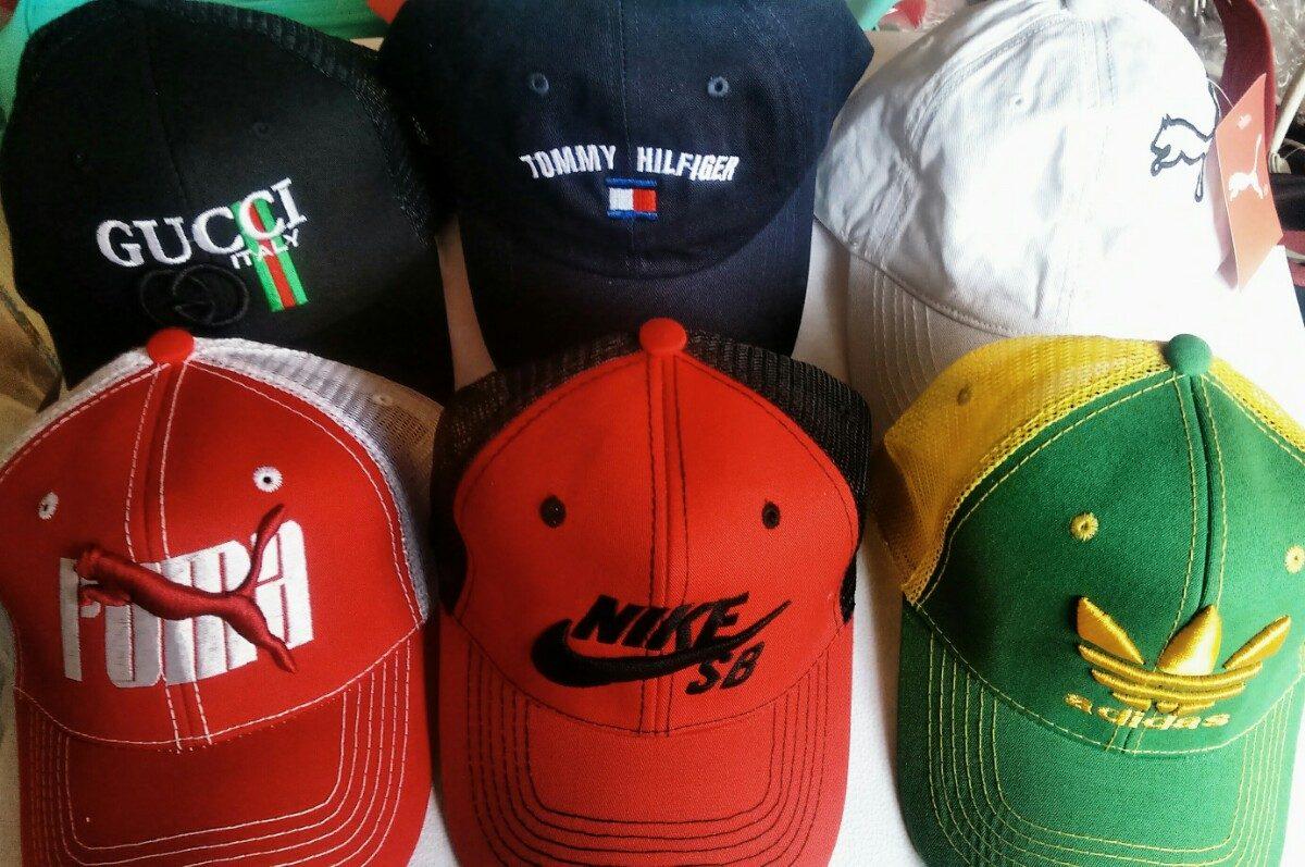 Lote 10 Gorras De Moda -   750.00 en Mercado Libre 20d1ae8d2ab