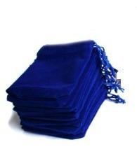 lote 10 guardapolvos joyas, bolsa terciopelo para joyería