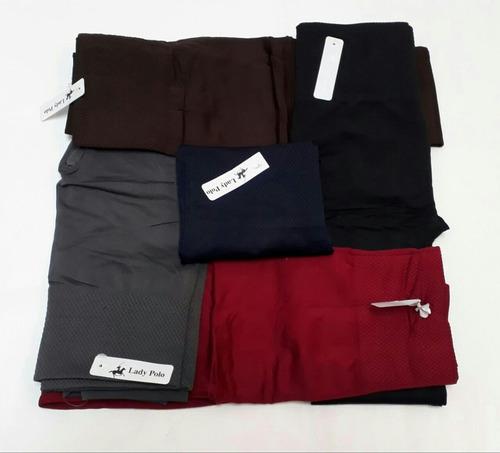 lote 10 leggins térmico fajilla  para dama + envío gratis