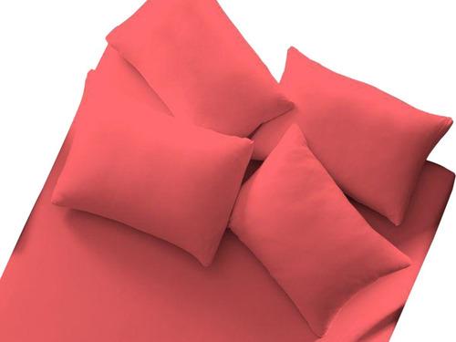 lote 10 lençol de malha 100% algodão com elástico cores liso