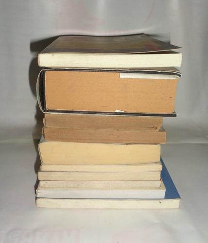 lote 10 libros autores nacionales v generos longchamps z sur