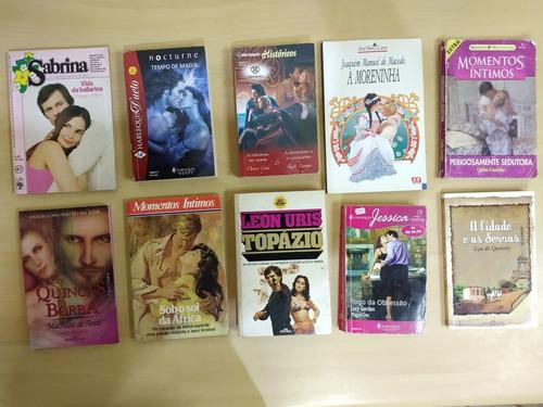 lote 10 livros romances harlequin bianca sabrina diversos