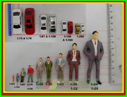 lote 10 miniaturas automoveis esc 1:200 figuras p/ maquete
