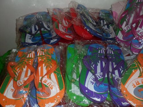 lote 10 pares de ojotas nuevas !!! surtido talles y colores