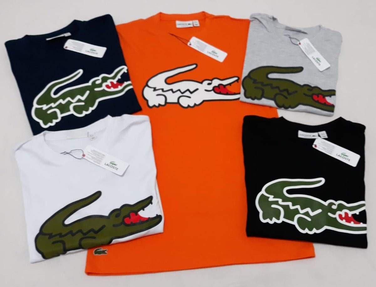 Lote 10 Peças Camiseta Lacoste Estampada - Original - R  429,90 em ... 27b08382cb