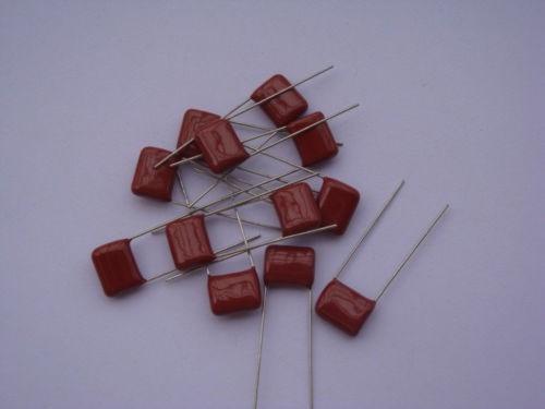 lote 10 peças capacitor poliester 8k2x1600(822k)frete gratis