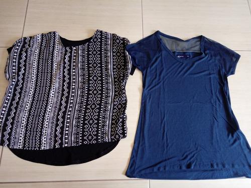 lote 10 peças roupas usadas blusas femininas usadas m, g