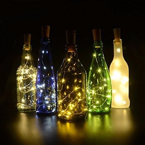 Lote 10 Piezas Lampara Botella Led Original Inovador