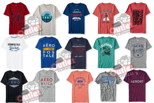 lote 10 playeras o blusas aeropostale  $849 modelos reciente