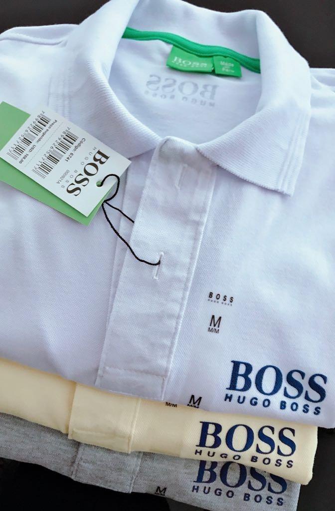 Lote 10 Polos Masculina Peruanas  hugo Boss Promoção!! - R  473 caea1ff3f6d