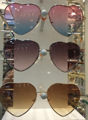 lote 10 unid óculos coração lolita bruna marquezine atacado