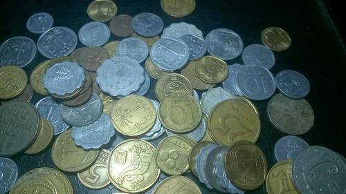 lote 100 moedas antigas de israel #0006