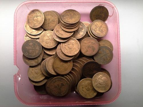 lote 100 moedas de 1000 reis fazer aliança duas caras