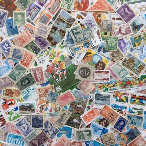 lote + 1000 selos comemorativos do brasil novos