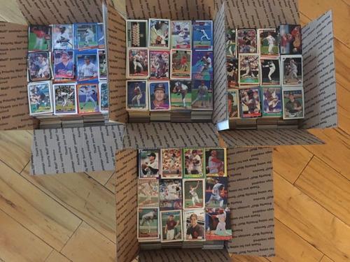 lote 1000 tarjetas de beisbol 1986-2010