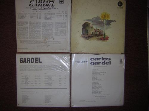 lote 11 discos muy buenestado tango interprete carlos gardel