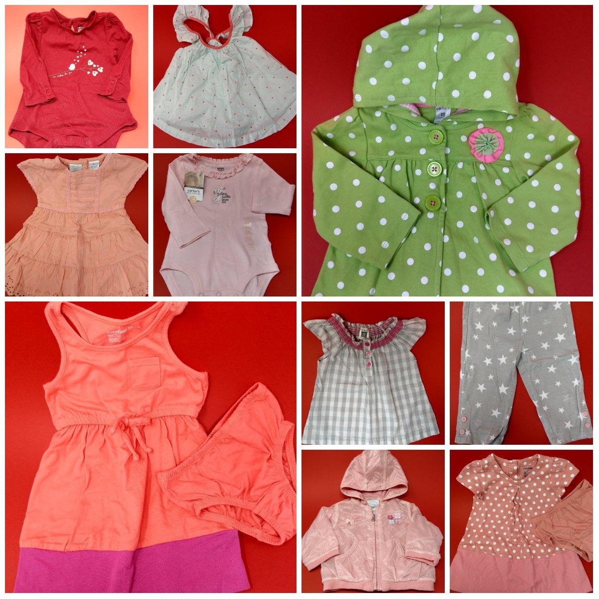 63b1ca836 ... ropa niña americana nueva de marca 12-18 meses. Cargando zoom.