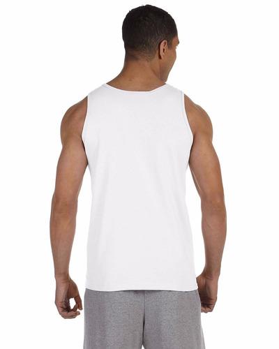 d252070f52 Lote 110 Camiseta Regata Branca 100% Poliester - R  779