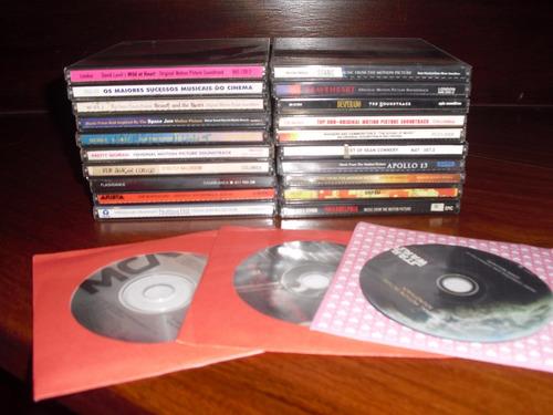 lote 111 cds - trilhas, samba, pagode, clássicos - com lista