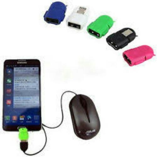 lote 12 adaptador otg micro usb a usb android envío gratis