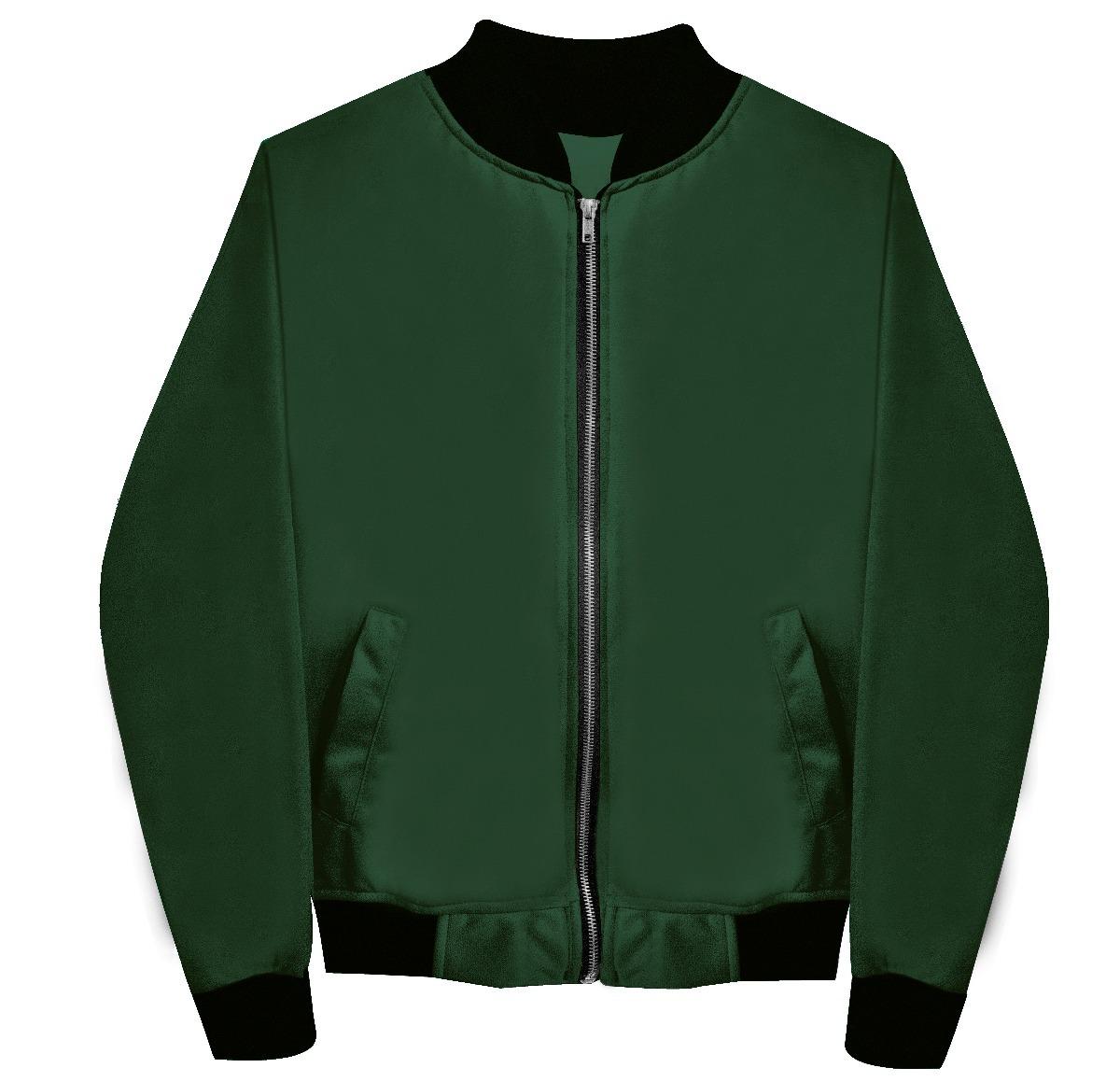 sitio autorizado auténtico famosa marca de diseñador Lote 12 Chamarras Bomber Jacket Verde Militar Envío Gratis