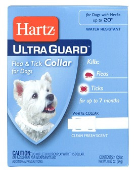 lote 12 collar antipulgas garrapatas hartz para perro docena