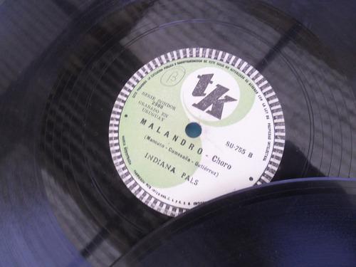 lote 12 disco pasta antiguo frankie lane bolero trio avileño