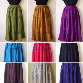 a86a64116 Falda Larga Pegada Mujer - Blusas en Mercado Libre México