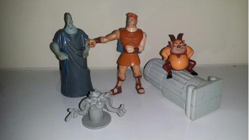 lote 12 muñecos hércules tarzan jorobado sirenita mcdonalds