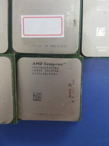 lote 12 processadores sempron