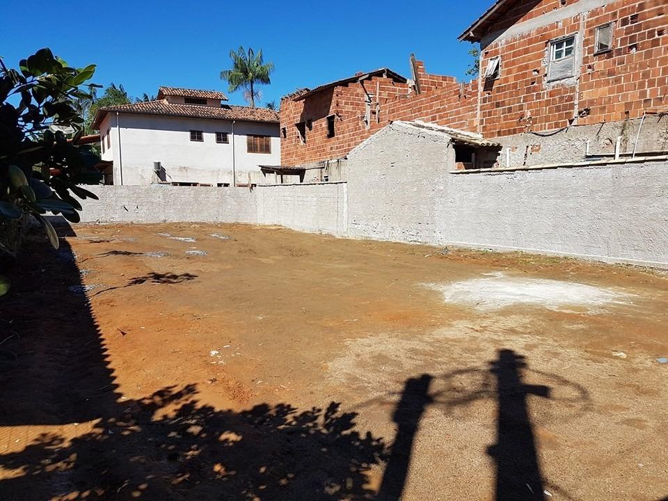 lote 12x30 - 360m2 escriturado no bairro jabaquara em paraty
