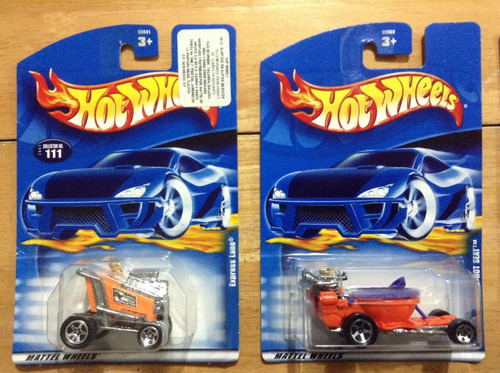 lote 13 de 10 autos hot wheels tee'd off autos curiosos.