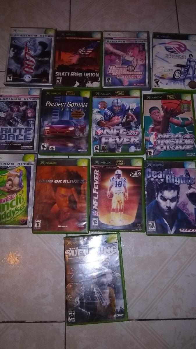 Lote 13 Juegos Xbox Clasico 1 300 00 En Mercado Libre