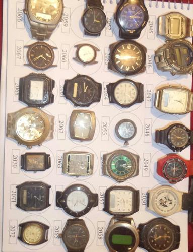 lote 13 sucatas casio e outros - maquina do tempo