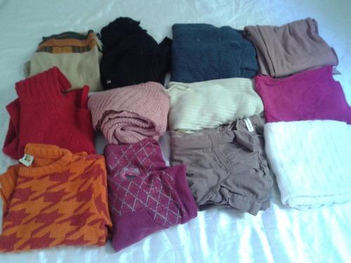lote 14 agasalhos feminino frio tm g promoçao  inverno