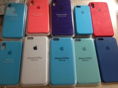 lote 14 fundas protector iphone 5 6 plus x xs original