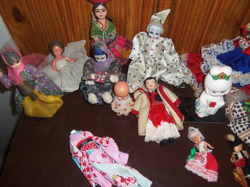lote 14 muñecas