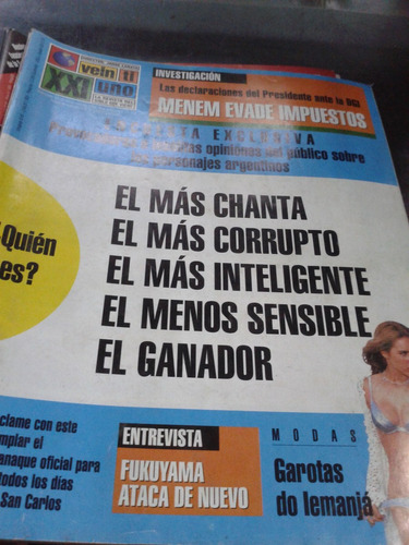 lote 15 revistas veintiuno